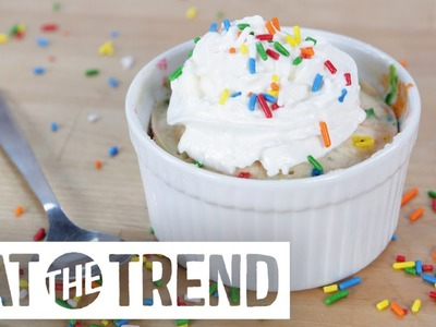Funfetti Cake in 5 Minutes Flat | Eat the Trend