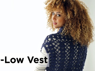 Hi-Low Vest made with Pound of Love