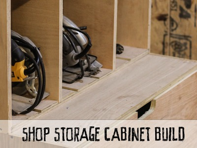 How To Build A Modular Shop Cabinet