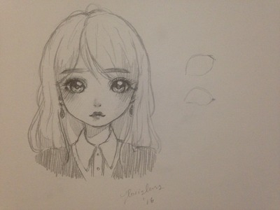 How to draw a girl (manga.doll style)