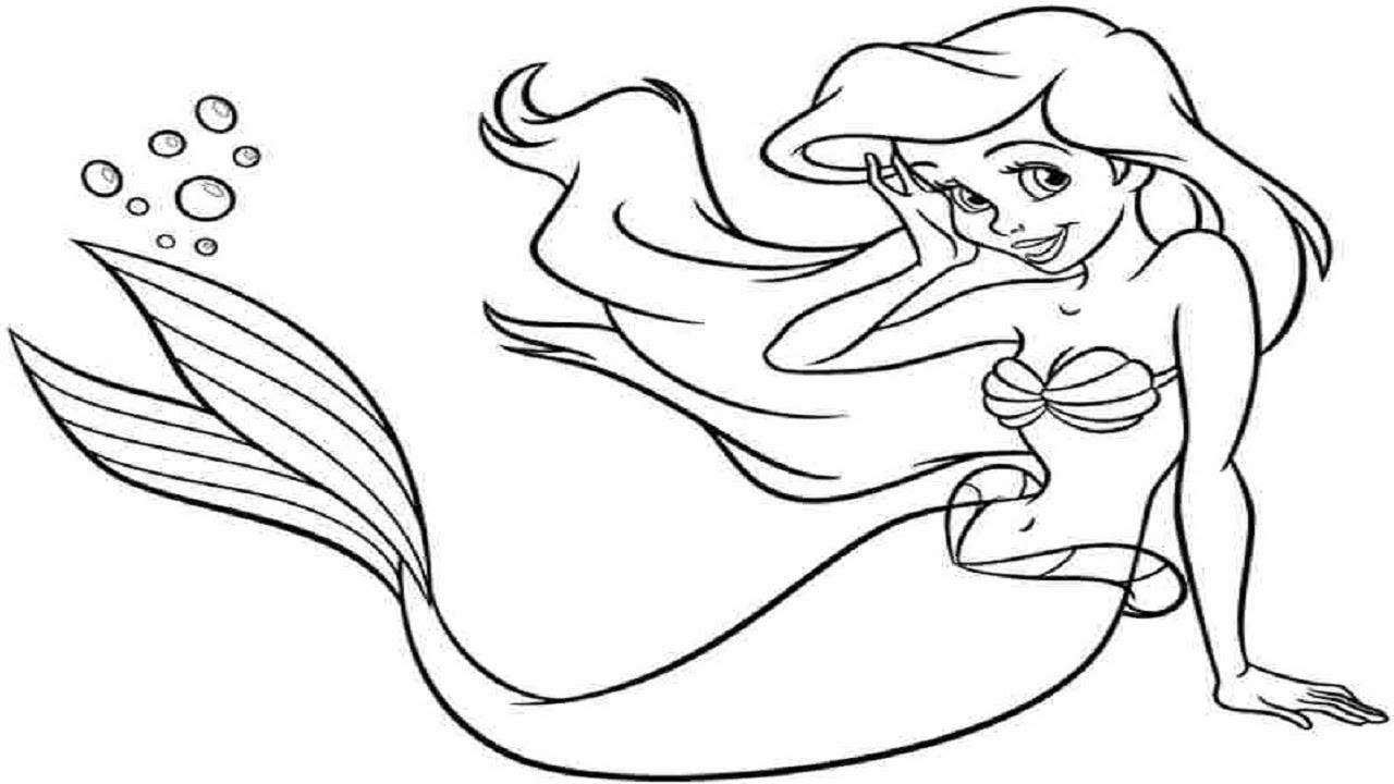 How To Draw A Mermaid Easy Drawing Lesson For Kids Art Tutorial