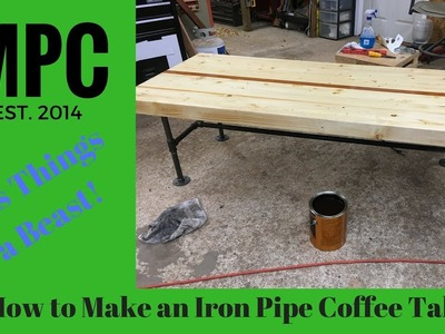 How to Make an Iron Pipe Coffee Table
