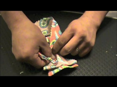 How to Make Doggy Bowties: Using Only Fabric