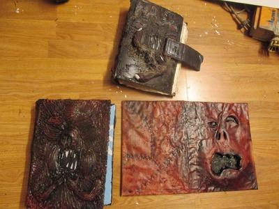 How to make evil dead books. the necronomicon dubble feture tutorial