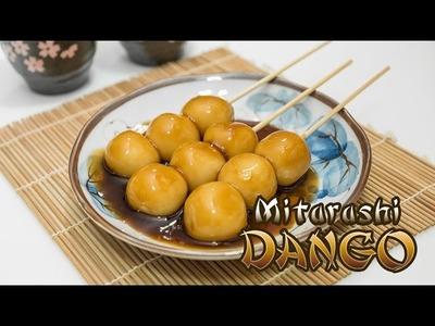 How to make Mitarashi Dango (Japanese dumplings)