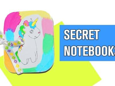How to make notebook easy | DIY secret notebook | Back to school supplies  | Julia DIY