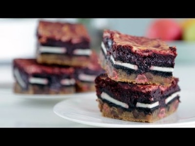 How to Make Red Velvet Slutty Brownies | Eat the Trend