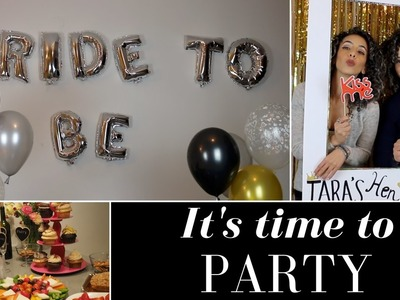 How to throw an awesome hen party ????| bachelorette party