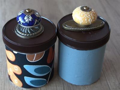 Ideas for Decorating Jars: DIY Bathroom Jar Containers
