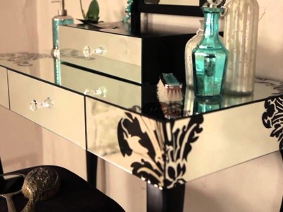 Laurence Llewelyn-Bowen - Shop The Look - Glass and Mirrored Furniture