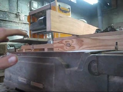 Making a bad jointer good part 1.