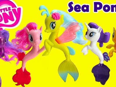 My Little Pony Sea Ponies Dive for Treasures