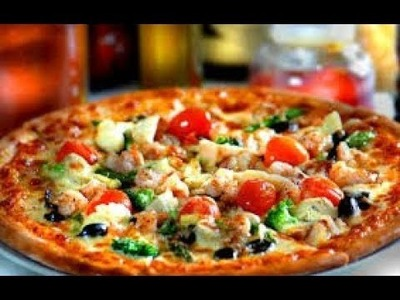 Pizza Recipe in Hindi | Homemade Quick and Easy Tawa Pizza Recipe without Oven & Yeast Free in Hindi