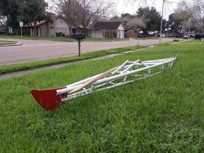 PVC Kayak Frame