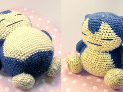 Snorlax Amigurumi Crochet Tutorial Part 2