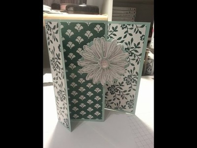 Special fold card using Daisy delight stampin up