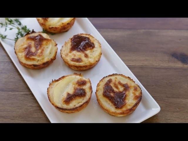 Thanksgiving Hacks - How to Make Muffin Tin Potatoes Gratin