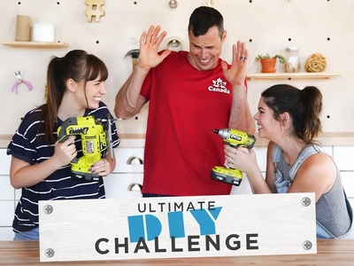 THE ULTIMATE DIY CHALLENGE | KELSEY VS BECKY