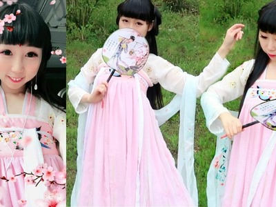 Traditional Chinese Dress.Costume (from Tang Dynasty) | How to Dress Qingxiong Ruqun