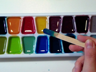 TUTORIAL: Home Made WATERCOLORS for KIDS and TODDLERS (NON-toxic and edible) by ART Tv
