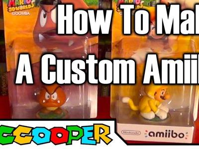 Tutorial: How To Make A Custom Amiibo | SicCooper