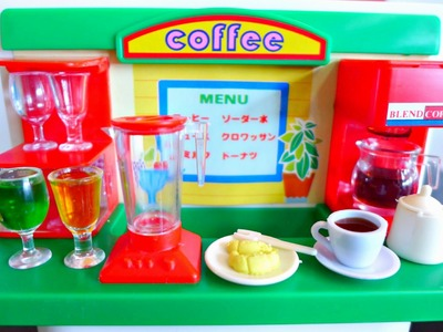 Unboxing & Playing with Konapun Coffee Shop [Vintage Toy]