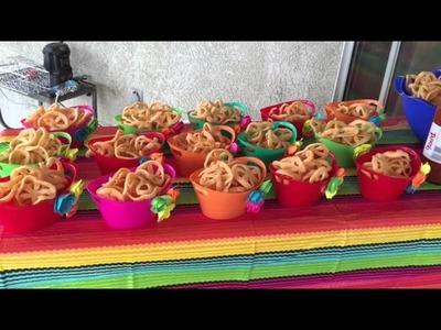 Vickyville's 40th Fiesta Decorations Holla