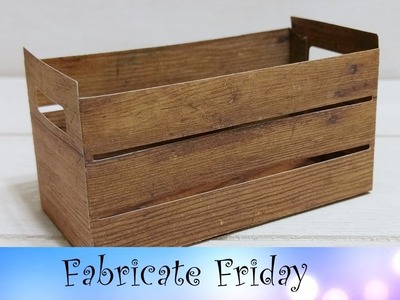 Wood Crate Project featuring Stampin' Up!® Products