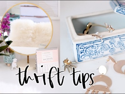 10 Tips to Up Your Thrifting Game! | Thrifting for Home Decor 101