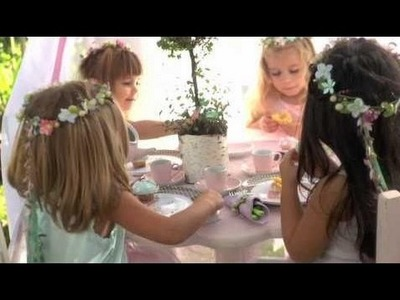 Birthday party paper crafts How To Make A Fairy Birthday Party Flower Crown | Pottery Barn Kids