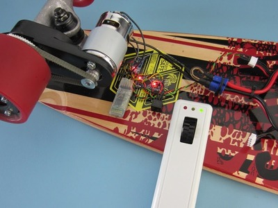 Building an electric longboard (part 4) - Will a $14 brushed motor work?