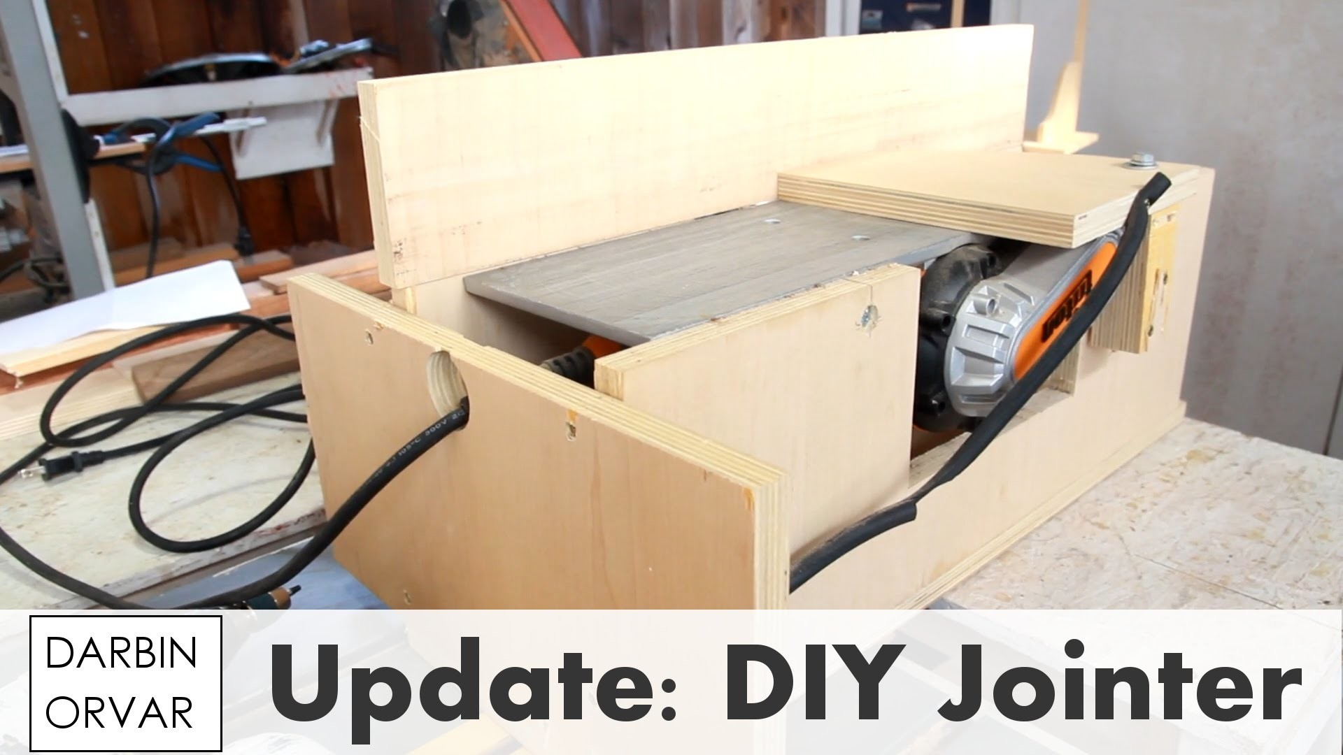 Diy Jointer Shop Update November 2015 My Crafts And Diy