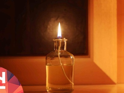 DIY Project : Make a DIY petrol lamp