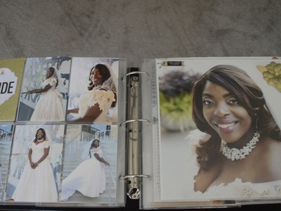 DIY Wedding Scrapbook, Pt 1, project life & wedding mini album inspired