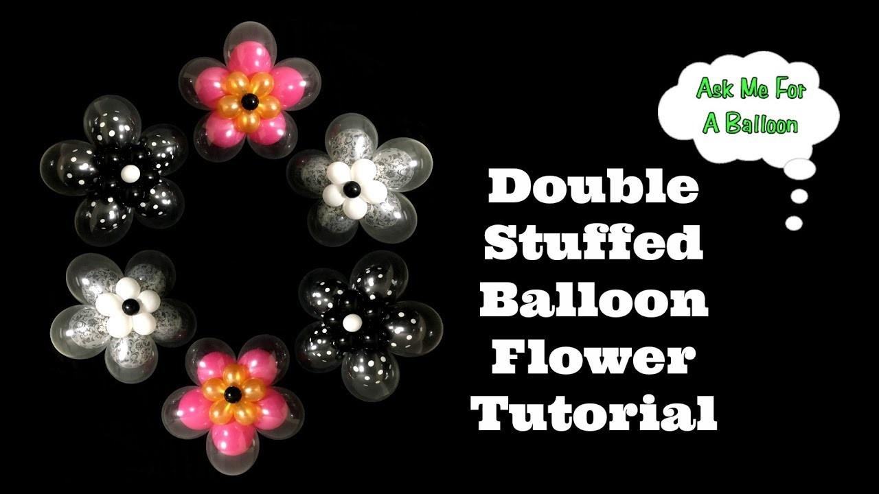 Double Stuffed Balloon Flower Tutorial
