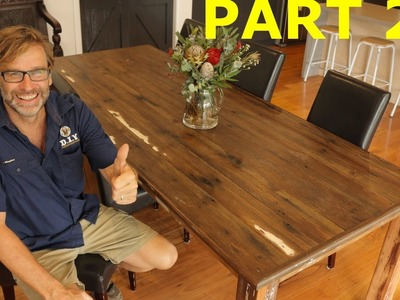 How to Build a Table. Part 2!