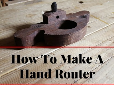 How to Make A Hand Router Plane With Hand Tools Building Tutorial