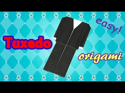 How to make a paper Tuxedo | Origami Tuxedo Instructions Easy but Cool for Beginners Step by Step