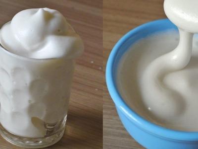 How to make Aquafaba at HOME + Vegan Whipped Cream Recipe