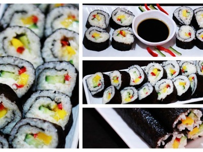 How to Make Maki Sushi-Beautyklove