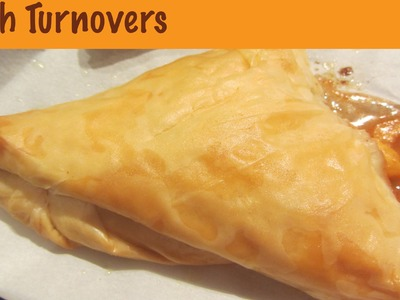 How to Make Peach Turnovers with Phyllo Dough Puff Pastry Dessert