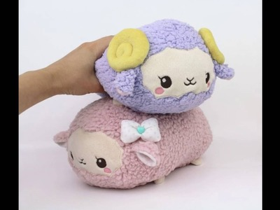 How to make plush: Sewing sheep ears and horns