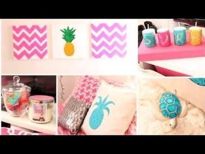 How to make room decorations at home DIY Summer Room Decor + Organization Tips!