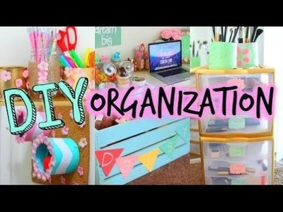 How to make room decorations at home DIY Spring Organization + Room Decor! Get Organized For Spring