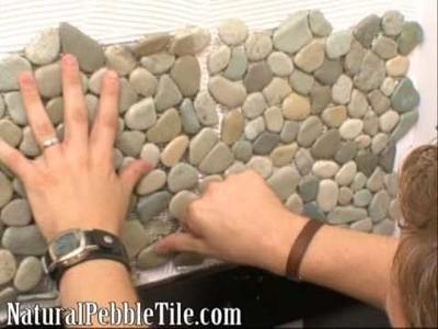 "Natural Pebble Tile on DIY Network's ""BathTastic"""