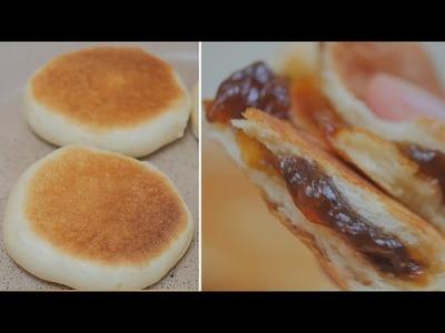 [NO OVEN]  Korean Sweet Honey Pancakes (Honey Hotteok)  [FOOD VIDEO]  [스윗더미 . Sweet The MI]