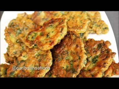 Spinach Fritters with Sea Moss and Spelt Flour