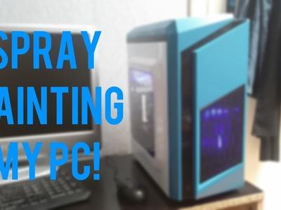 Spray Painting My PC!