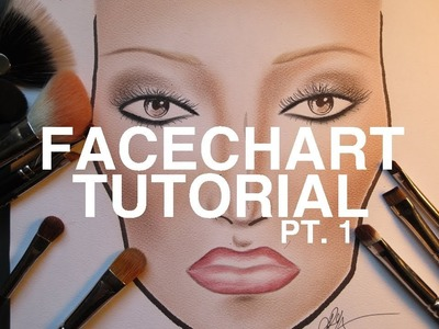 TUTORIAL: Face Chart Pt. 1 - Shading the Skin