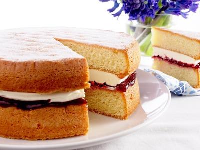 Vegan Vanilla Sponge Cake!!  || TheDropOfQuality